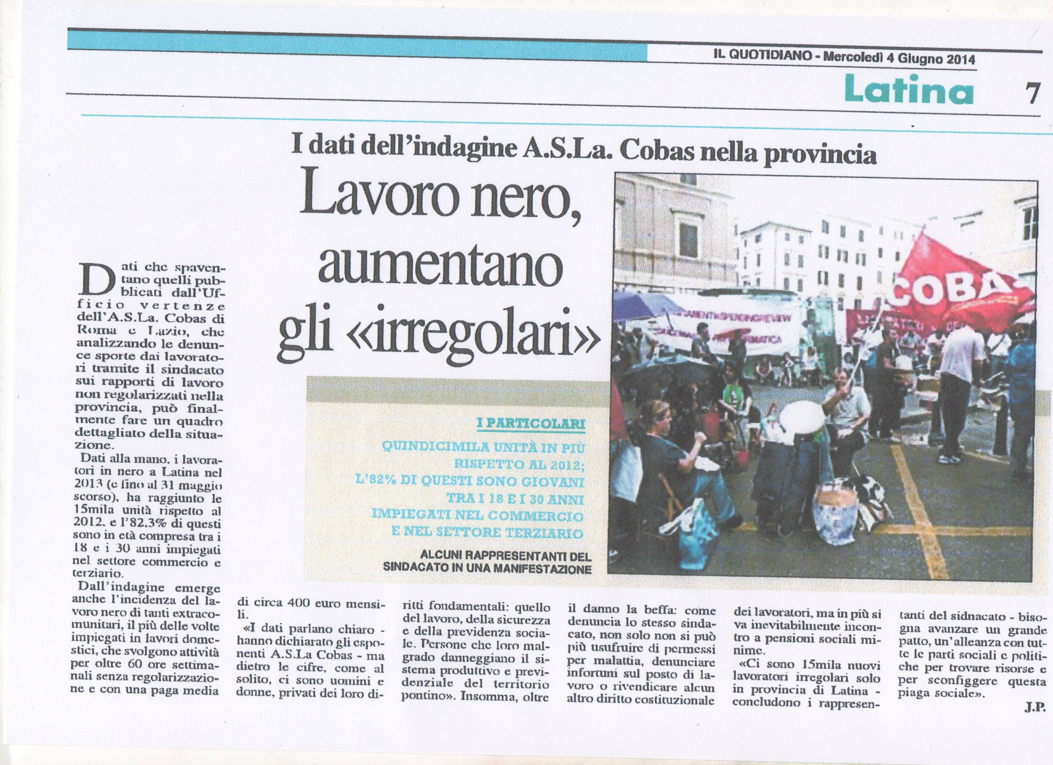 LIL QUOTIDIANO LATINA DEL 4 GIUGNO 2014002