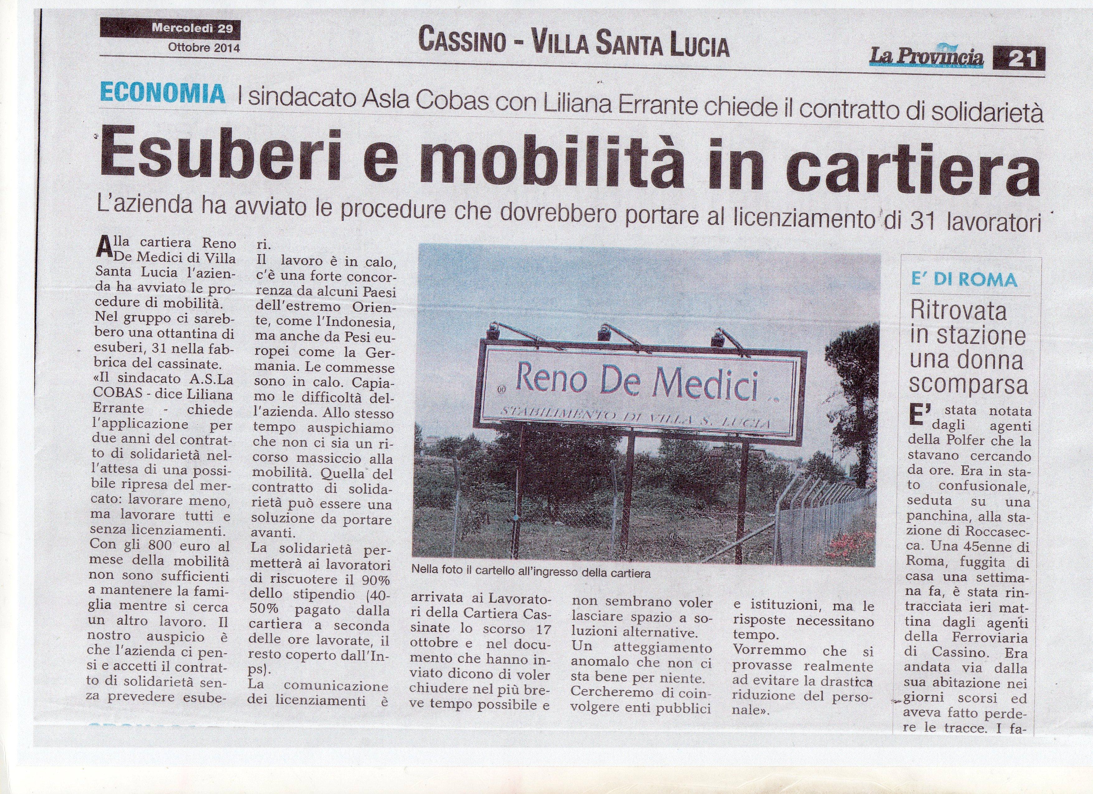 ARTICOLO RENO DE MEDICI DEL 29 OTTOBRE 20140012