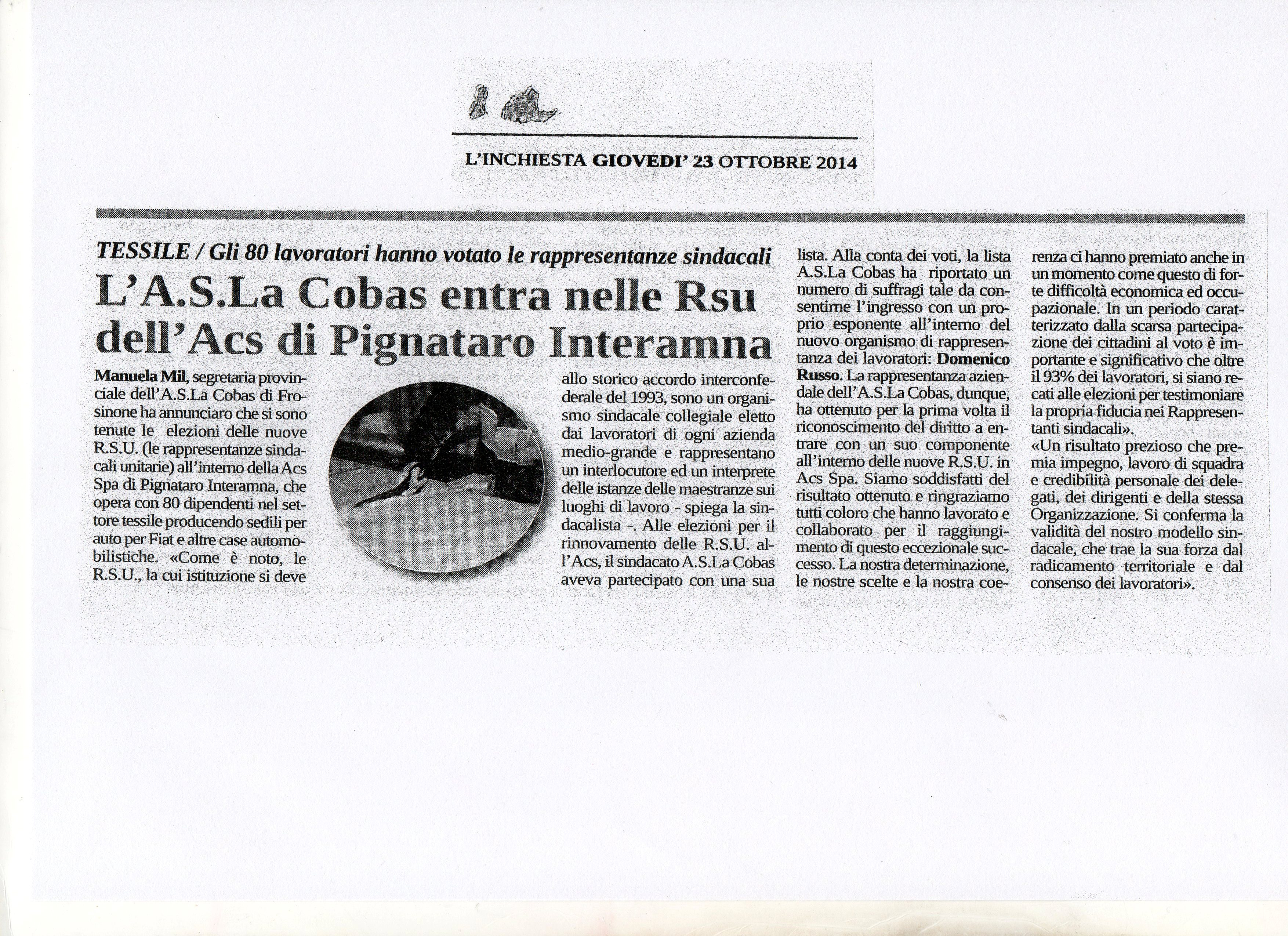 ELEZIONI ACS L'INCHIESTA DEL 23 OTTOBRE 2014002