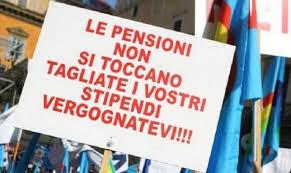 Toccare le pensioni